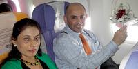 無罪が確定した、ゴビンダ・プラサト・マイナリさん(写真右)。(c)無実のゴ ビンダさんを支える会