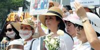 2013年5月10日メキシコシティーの集まりに強制失踪者の母親たちが参加した (C)Amnesty International/Ricardo Ramírez Arriola