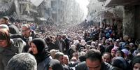 シリア政府はダマスカスの南にあるヤルムークで、2万の市民を含む人びとを包囲し続けている。(C)unrwa.org