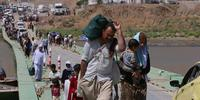 Humanitarian efforts failing the hundreds of thousands forced to flee ethnic cleansing in northern Iraq