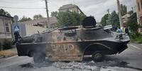 分離独立派勢力と政権派勢力は、停戦協定を破ったと互いを非難していた。(C)AFP/Getty Images
