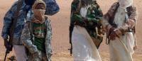 武装集団による村人虐殺