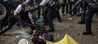 香港:デモへの対応調査 警察の責任追及なし