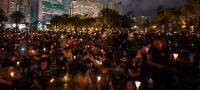 香港当局 天安門事件の追悼集会を禁止