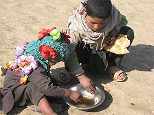 120万人のアフガン国内避難民に支援が届かない!