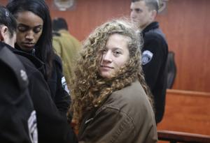 平手打ちで懲役10年 !? パレスチナの少女を救って