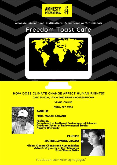 Freedom Toast Cafe: How Does Climate Change Impact Human Rights?