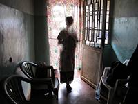 写真:15歳で強かんの被害にあった女性(C)Amnesty International