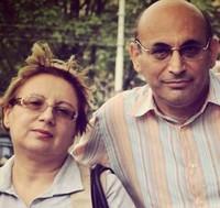 レイラ・ユヌスさん(左)、アリフ・ユヌスさん(右)