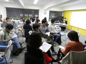 カフェ&バー「台湾の人権課題について学ぼう!」会場の様子