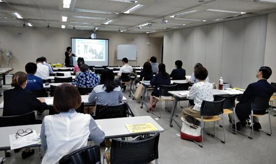講演会「福島原発被災者の人権を求めて」神奈川講演の様子