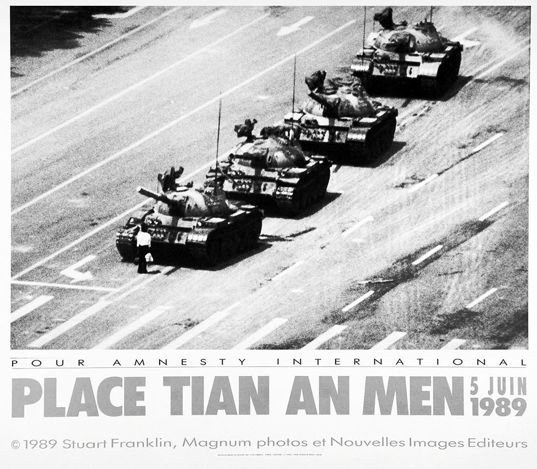 天安門事件、Tank Man、戦車男