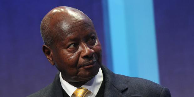 Ugandan President Museveni (Above) has signed the Anti-Homosexuality Bill into law. © MEHDI TAAMALLAH/AFP/Getty Images