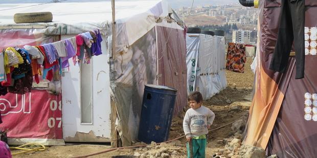 開発途上国が世界の難民問題の重荷を過分に背負う。 (C)Amnesty International