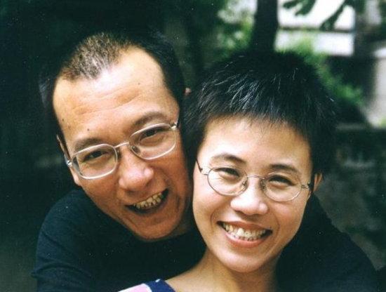 Liu Xiaobo and Liu Xia
