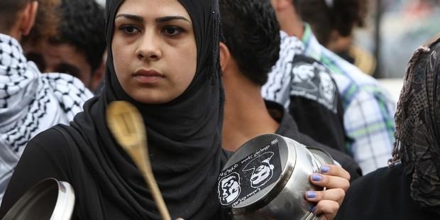 イスラエル当局は、多くのパレスチナ人を不当に拘禁している。 © ABBAS MOMANI/AFP/GettyImages