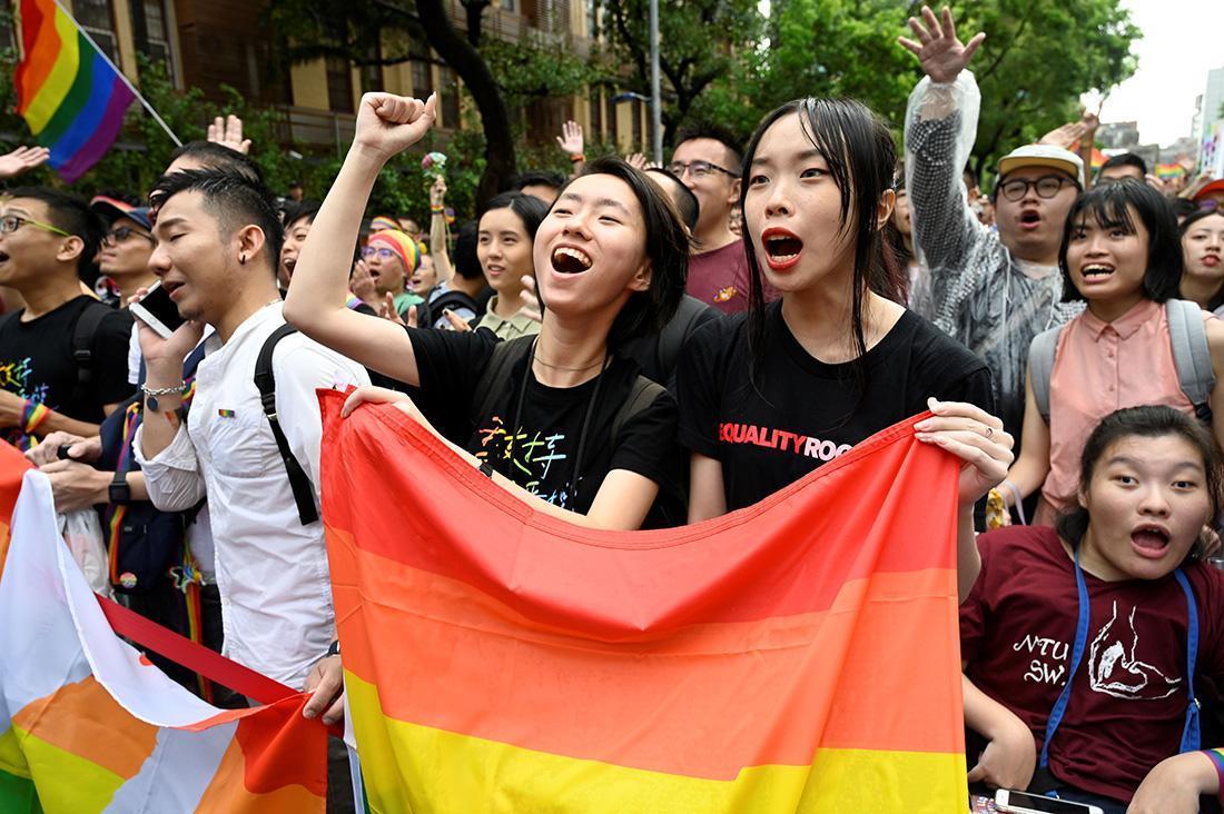 アジア初の同性婚 20年の道のり(LGBTキャンペーン):アムネスティ ...