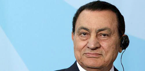 Former Egyptian President Hosni Mubarak (Photo by Sean Gallup/Getty Images)