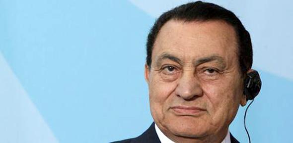 エジプトのムバラク前大統領。(c)Sean Gallup/Getty Images