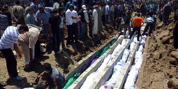 国連の発表では、シリア内戦で推定6万人が命を落とした。(C) Sniperphoto.co.uk/Demotix