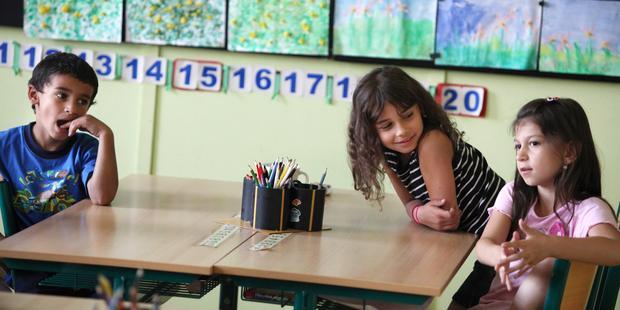 アムネスティは何年にもわたって、チェコの学校でロマの子どもたちが差別されていることを検証してきた。(C) Jiri Dolezel