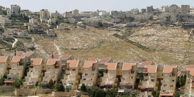 イスラエル政府は西岸地区の入植地を拡大することを発表した。(C) AFP/Getty Images