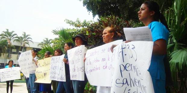 エルサルバドルではどんな場合でも人工妊娠中絶は違法だ。 © Amnesty International