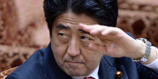 2012年12月に就任した安倍政権は、すでに5人の死刑を執行した (C) AFP/Getty