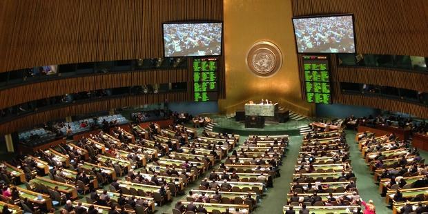 武器貿易条約に賛成した155カ国のうち43カ国が署名も批准もしていない。(C) Amnesty International