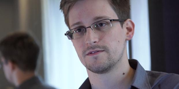 US whistleblower Edward Snowden was granted asylum in Russia.(C) The Guardian via Getty Images