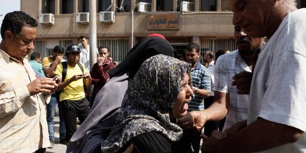 At least 88 people have lost their lives in protests and political violence in Egypt.(C) Ed Giles/Getty Images