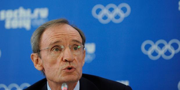 国際オリンピック委員会は、「ロシアの同性愛嫌悪法案はオリンピック憲章に違反しない」と述べた.(C)MIKHAIL MORDASOV/AFP/Getty Images