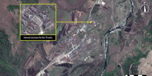 朝鮮民主主義人民共和国:衛星画像が語る収容所の抑圧