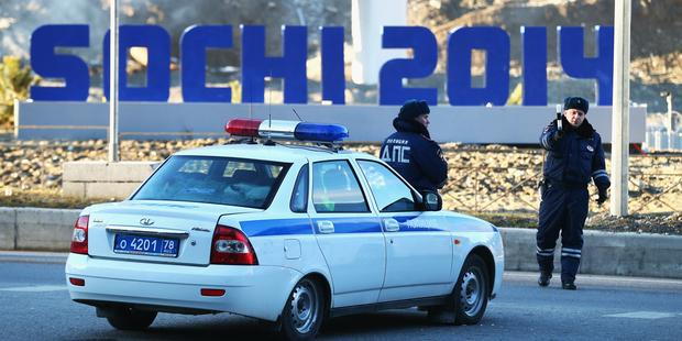 オリンピック開催中のソチでは、毎日のように活動家らが拘束されている(C) Ryan Pierse/Getty Images