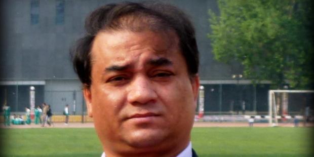 """Ilham Tohti is a prominent Uighur professor who has been formally arrested for """"separatism""""in China.(C) Private"""
