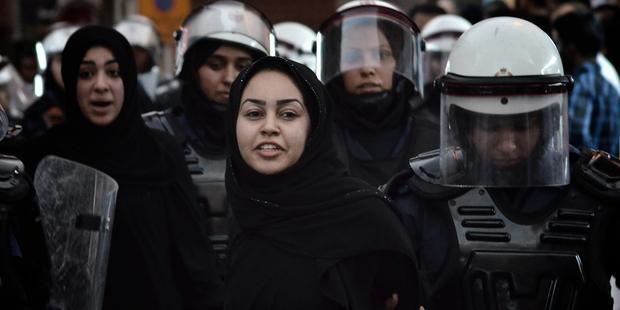 当局はこれまでも、FIグランプリの時期にデモを弾圧してきた。(C) MOHAMMED AL-SHAIKH/AFP/GettyImages