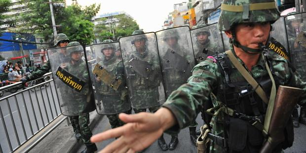 Thailand's military imposed Martial Law on 20 May 2014 and seized power two days later.(C) epa