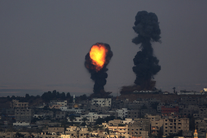 In 50 days of conflict, more than 2,100 Palestinians and 70 Israelis have been killed.(C)epa