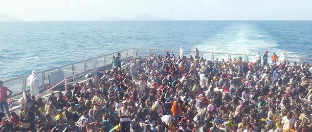 イタリアは2013年から海洋捜索救助作戦を行い、大勢の命を救ってきたが、昨年末で終了した。同国の沿岸警備隊は作戦終了後も救助活動を続けていた。