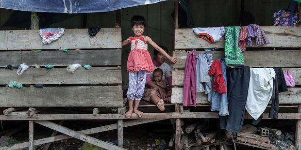 カンボジアでは強制立ち退きによって何千人もが苦しんでいる。オーストラリアは、こうした人権侵害を強く非難していた。(C) Omar Havana/Getty Images