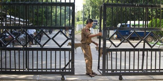 The Myanmar authorities today said that some 3,000 prisoners would be released in an amnesty, but none of the country's activists will be included.(C) AFP/Getty Images