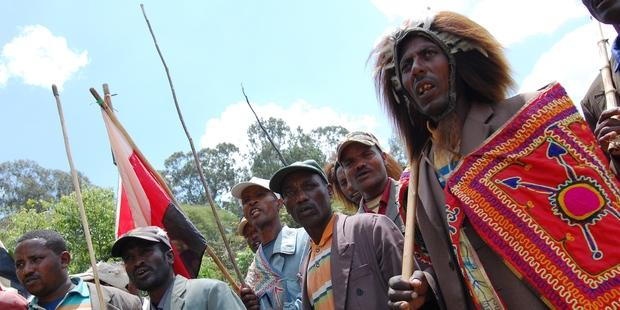 Ethiopia's largest ethnic group, the Oromo, are being ruthlessly targeted by the state.(C)AFP/Getty Images