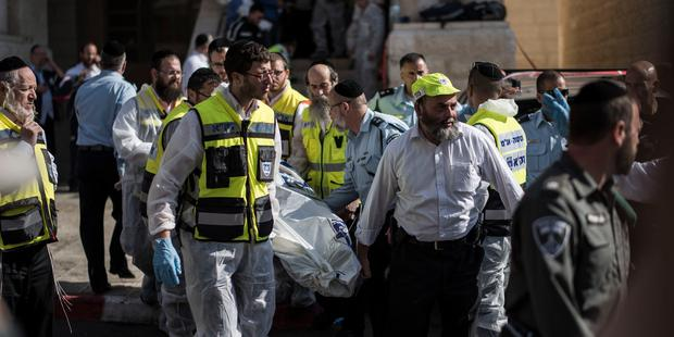 The killing is the deadliest attack on civilians to occur in Jerusalem in six years. © Ilia Yefimovich/Getty Images.