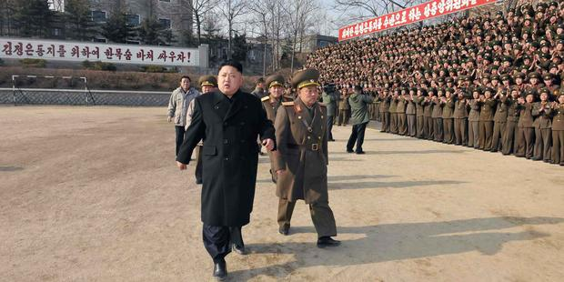 The UN vote has sent a clear message to the North Korean government that those responsible for crimes against humanity must face justice. (C) AFP PHOTO / KCNA VIA KNS