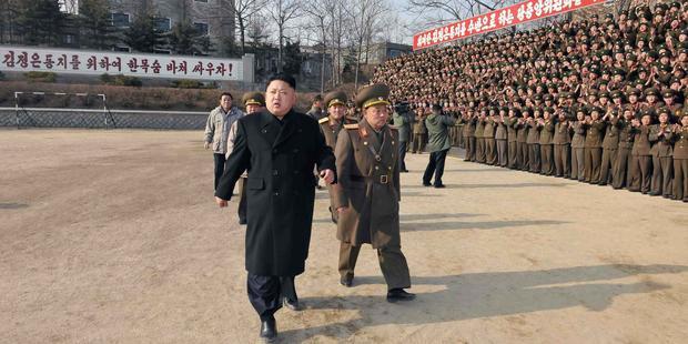 国連決議は人道に対する罪を犯した者は裁きを免れないという、北朝鮮当局に対する明確なメッセージだ。(C) AFP PHOTO / KCNA VIA KNS