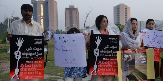 パキスタンは死刑の執行を再開した。(C)AAMIR QURESHI/AFP/Getty Images