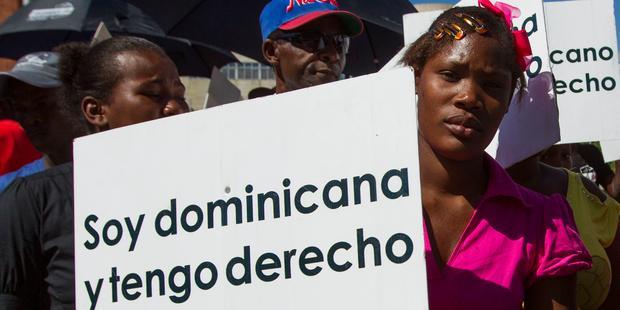 ドミニカ共和国に生まれた何万人もの人が追放される恐れがある。その大多数はハイチ系だ。(C) ERIKA SANTELICES/AFP/Getty Images