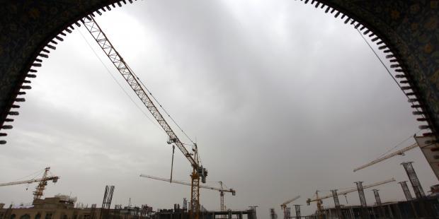 Construction site in Najaf province, Iraq (C) HAIDAR HAMDANI/AFP/Getty Images