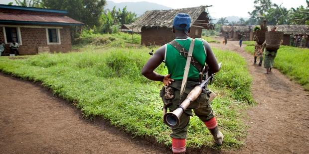 コンゴ民主共和国の東部では、殺害の脅迫と威嚇により、人権擁護の活動が極めて困難になっている。(C) Balttman