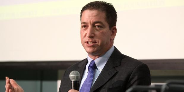 David Michael Miranda is the partner of Glenn Greenwald (pictured), the Guardian journalist whose reporting disclosed sweeping, systematic and unlawful surveillance by the US government. (C) Gage Skidmore